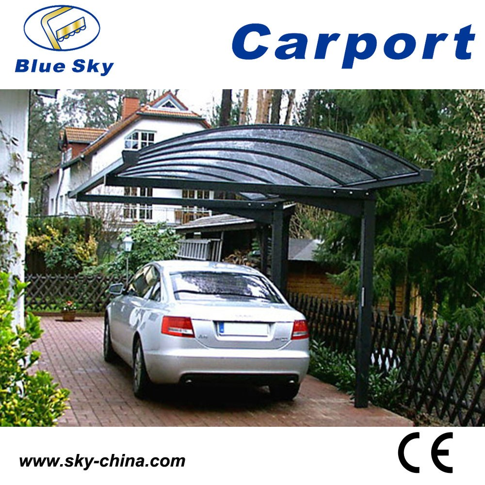 Ce Proved Metal Frame Mobile Aluminum Carport With