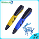 Hot selling 3d printing pen 2016 LED display child entertaining drawing 3d pen