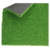 Fire resistant durable material playground synthetic artificial grass importer