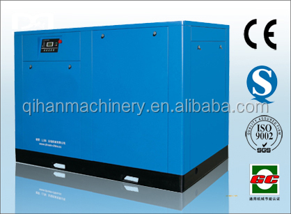 hot selling 55kw oil-injected screw air compressor with air dryer