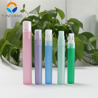 7ml 8ml 10ml wholesale refillable pen atomizer pp spray mini perfume pen bottle