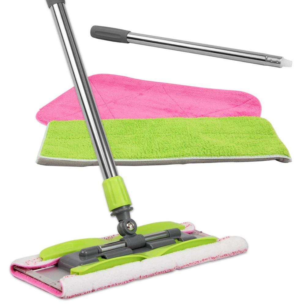 High quality polyester fiber strong decontamination mop