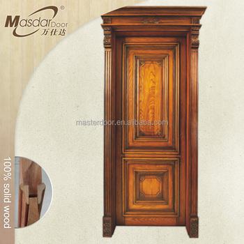 New Style Solid Wooden Flush Door In Foshan