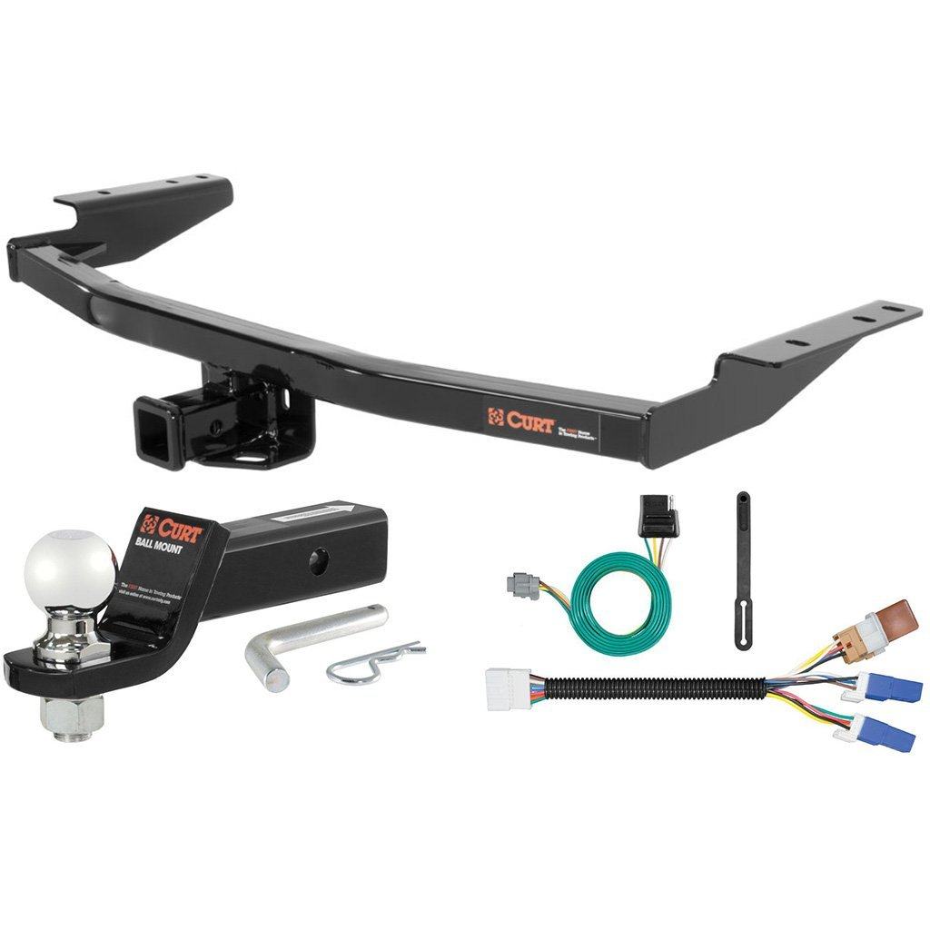 """CURT Class 3 Tow Package with 2-5/16"""" Ball for Nissan Pathfinder, Infiniti QX60"""