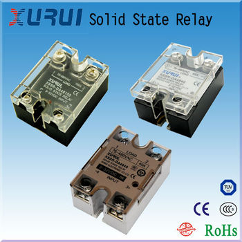 Epoxy Sealed Solid State Relays Ac Electric Relay Miniature
