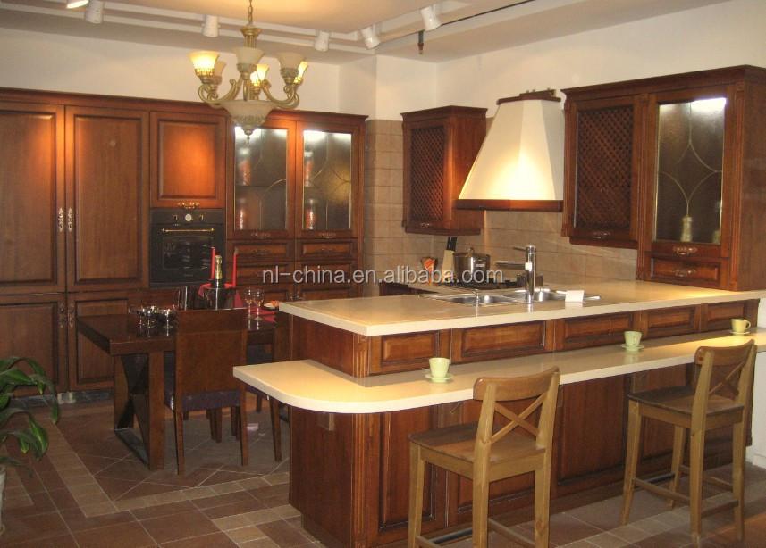 Vendita calda lucido in stile mediterraneo ciliegia, acero, teak ...