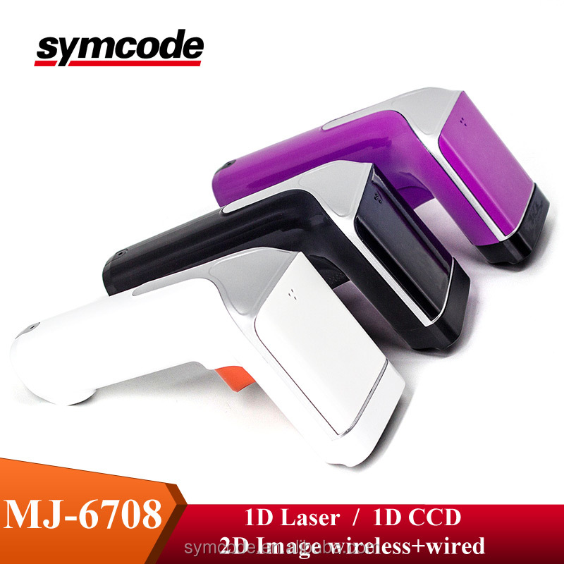 Commercio all'ingrosso QR barcode scanner fashion design 2d scanner di codici a barre QR code scanner USB