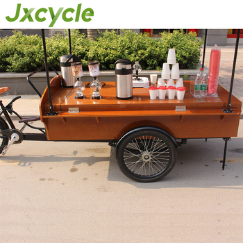 Fast Food Coffee Serving Cart Mobile