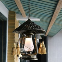 Residential modern vintage antique electrical interior pendant lamp