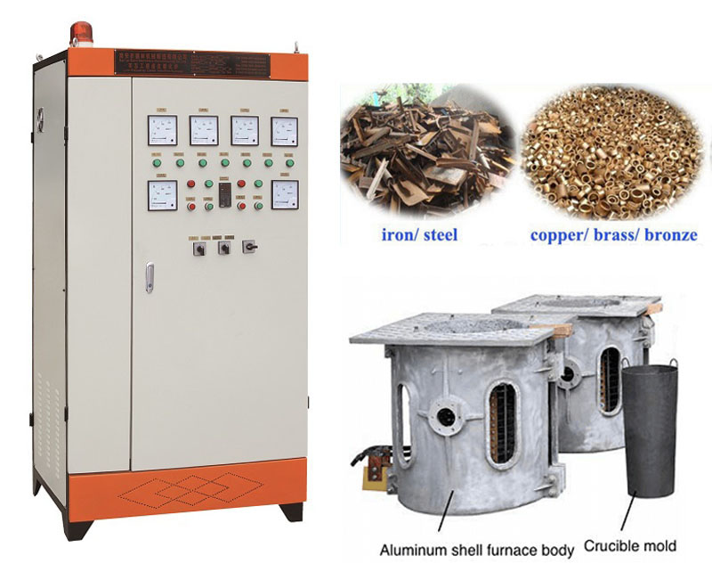 Foundry equipment copper metal electric smelter
