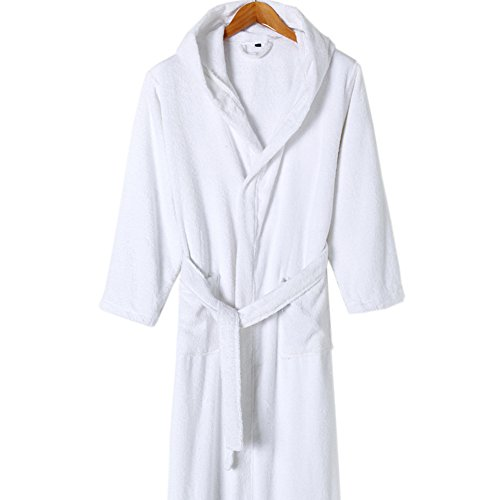 Adult Hooded Bath Towels Cotton Hotel Bath Towel Robe For Men ... 4e17bcb12