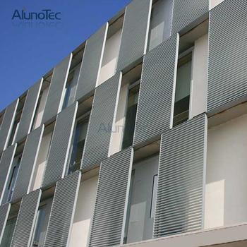 Building Materials Facade Design Sunshade Exterior