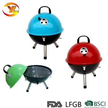 Round Small Charcoal Bbq Grill