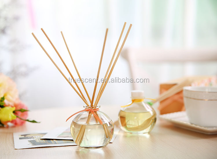 Scented aromatherapy customized with ribbon reed diffuser set with fragrance oil