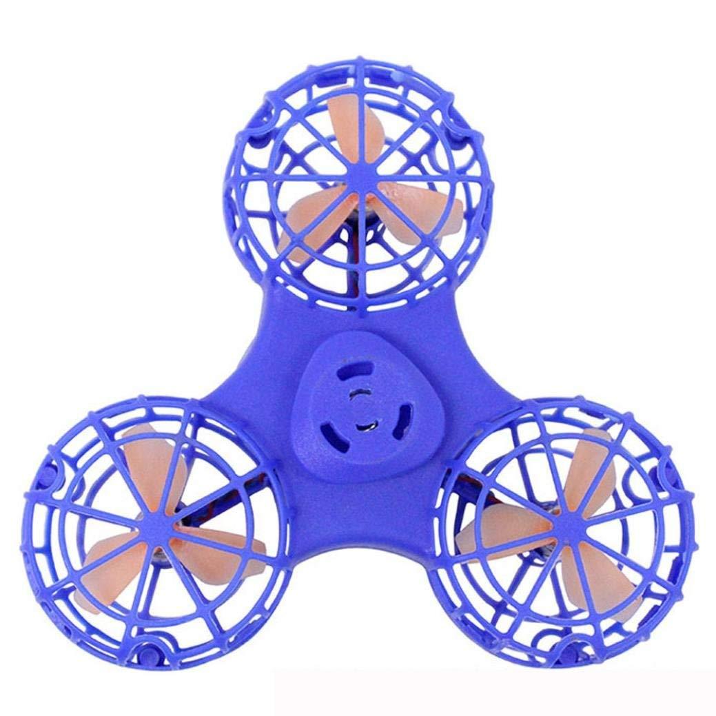 Best Tri Fidget Spinner Autism /& ADHD Cool Rainbow Hand Spinner /& Finger Spinner EDC Fidgeter Blue Fidget Spinner Prime Quality Ceramic Fidget for Fidgeting Nemo Goods Ltd Stress Toy for Anxiety