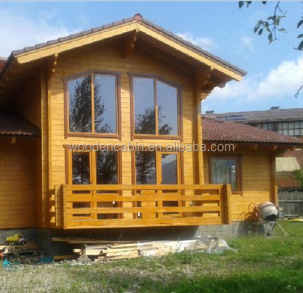 Fast build Prefab wooden house made in China