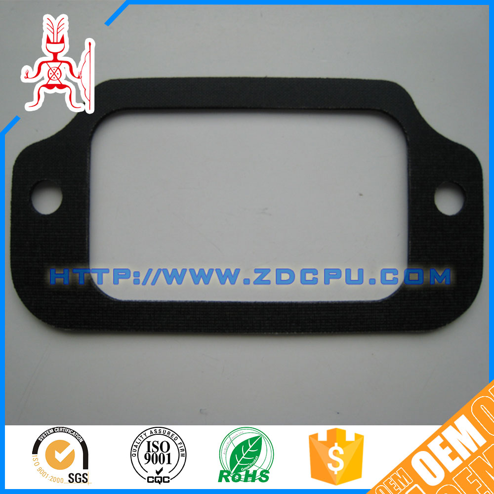 FDA durable flat silicon container door gasket
