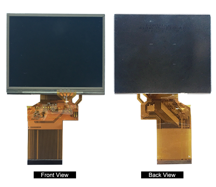 Landscape TFT display screen 3.5 inch LCD Module 320x480 capacitive touch
