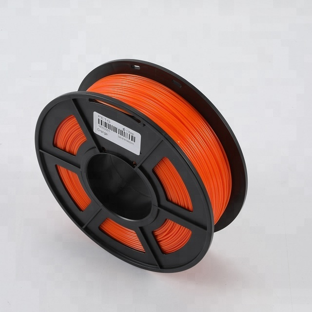 Petg Orange 3d print filament 1.75mm for digital pen and printing machine