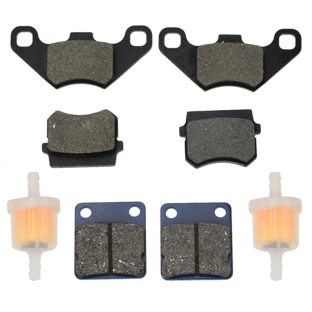 Cheap Kart Fuel Filter Find Deals On Line At 4 Wheeler Get Quotations Hiaors Front Rear Brake Pad And For Hammerhead Twister 150 Gt Gts Ss 250