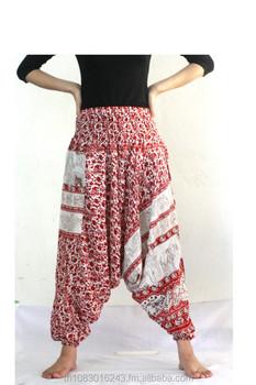 nueva estilos 2722a 6df58 Pantalones Baggy Palazzo Pantalones Aladdin Pantalones Harem Hippie  Pantalones Boho Pantalones/pijamas/yoga/pantalones De Carga /hippie  Elefante ...