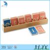 Educational montessori intellectual alphabet design wooden alphabet letters teaching fancy letters alphabet