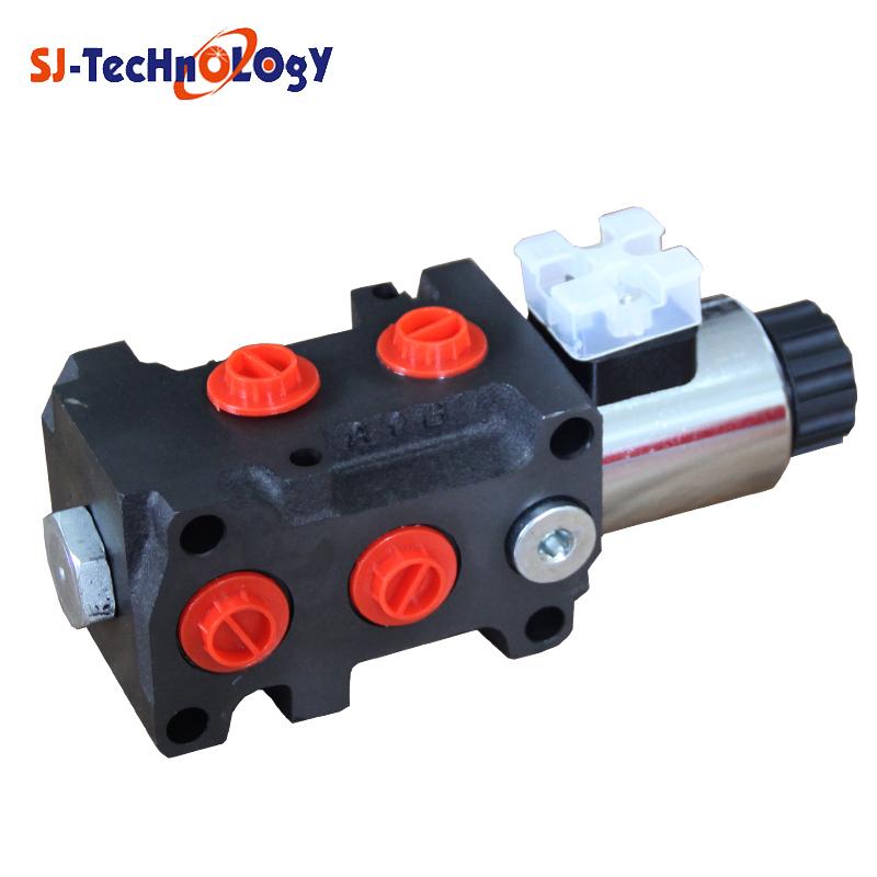 8way sun counterbalance hydraulic flow valve skidder