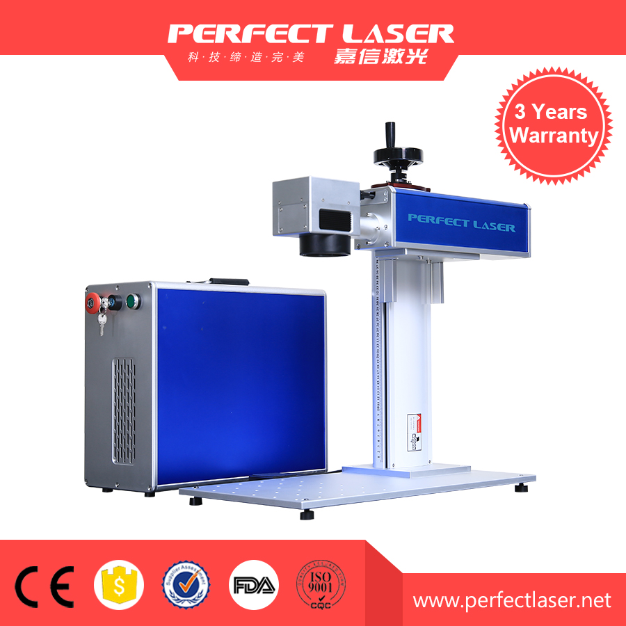 Hot Sale 20W 30W Fiber Laser Machine For Marking And Engraving