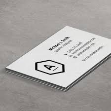 Triple layer business card letterpress printing, luxury silky finish name card