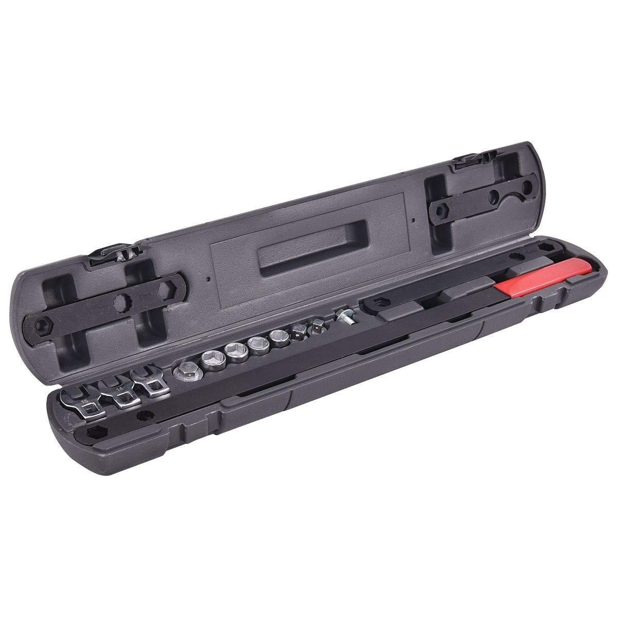 16 pcs Wrench Serpentine Belt Tool Kit Automotive Repair Set Sockets Wrench Serpentine Belt Tool Kit BeUniqueToday