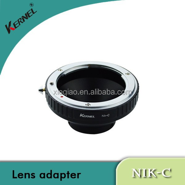 Kernel lens adapter for nikon f to c-mount