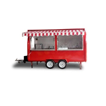 Ce Approval High Quality Mini Ball Donut Making Mobile Food Cart