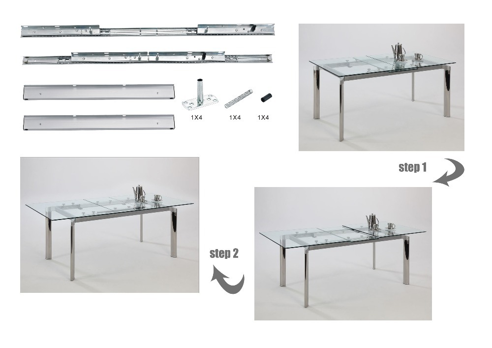 Automatic Lifting dining Table Slide(extension table slide)