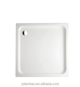 China factory popular custom acrylic square shower tray YP441shower bathtub base