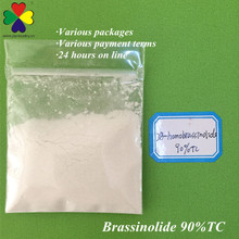 new types brassinolide 90%TC 0.1%SP plant growth hormone in controling the growth