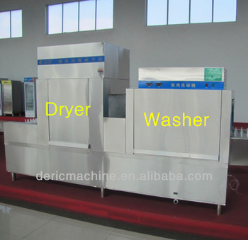 Industrial Dish Washing Machine with Drying and Sterilizing 1000--8000pc/hour