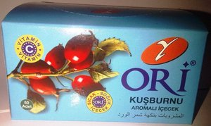 ORI Rosehip instant drink One glass usage 1,5 grX50pcs in one box, drink cold or hot