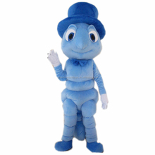 Cartoon a bug's life character Flik the ant mascot costume for party adult ant mascot costume