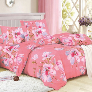 Bed printed polyester fabric