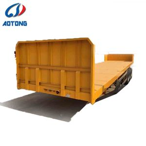 3 axles CCC certificate 40ft container trailer price in india from china