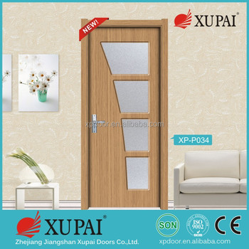 Shaker Interior Door 6080 Inch Galss Mdf Door 6 Horizontal Lines