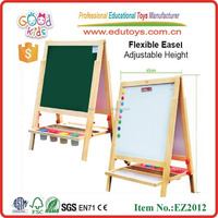 Goodkids new desgin flexible easel wooden white black board