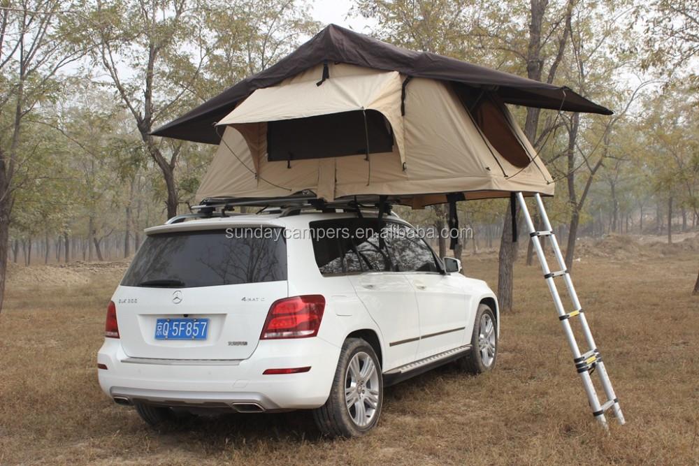 coque rigide en fibre de verre 4x4 accessoires sports de plein air tente de toit de voiture. Black Bedroom Furniture Sets. Home Design Ideas