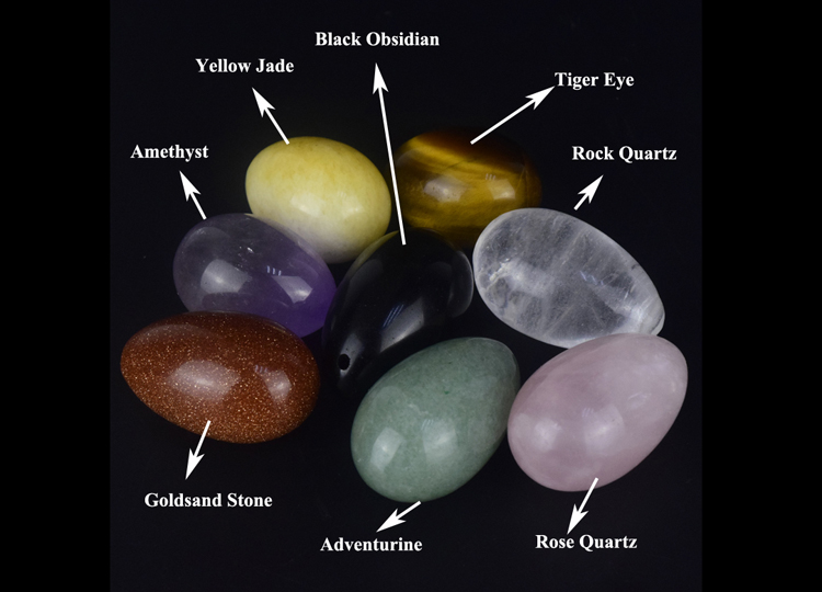 Wholesale All Kinds Of Semi Precious Stone Eggs Gemstone Yoni Eggs