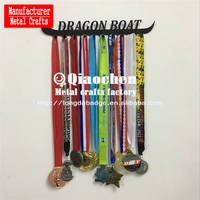 Brand new Custom 2018 fashion sports medal with high quality QC METAL HANGER 2