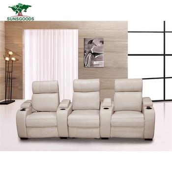 High Quality Modern Home Theater Seating Lazy Boy Cinema Sofa
