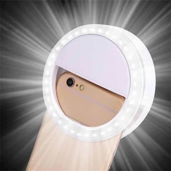Amazon best sellers Universal LED Cell Phone Camera LED Selfie ring Light for All Smart Phone
