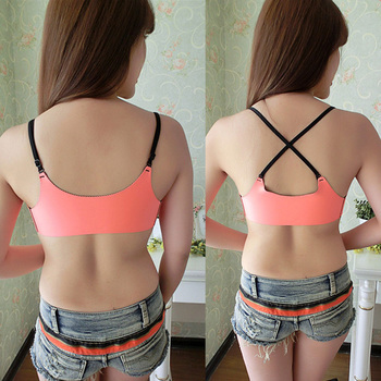 a947c022f Made In China Black Sexy Girl Wear Soft Front Closure Laca Bra - Buy ...