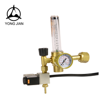 High precision brass co2 regulator heater
