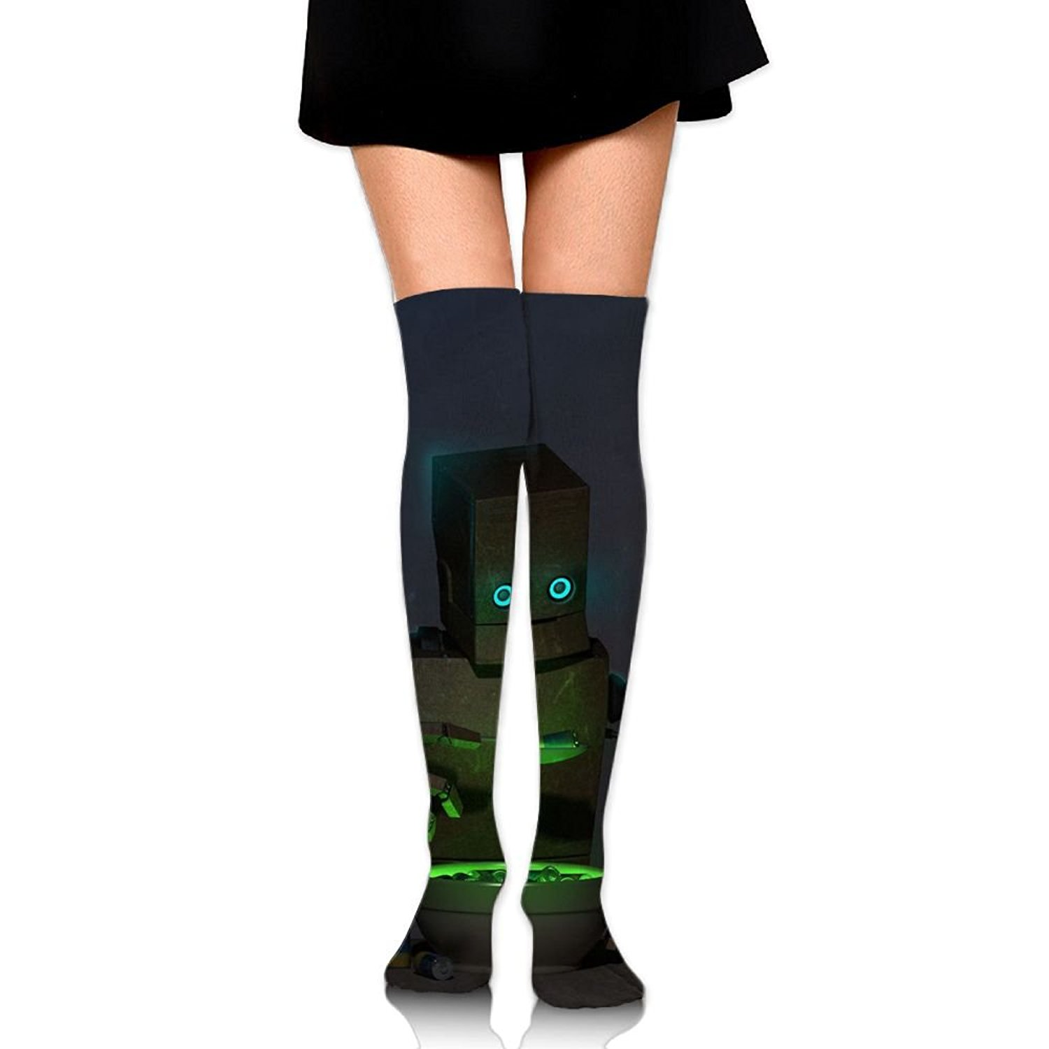 Zaqxsw Robot Women Vintage Thigh High Socks Thermal Socks For Womens